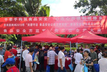 景洪市启动2018年食品安全宣传周活动